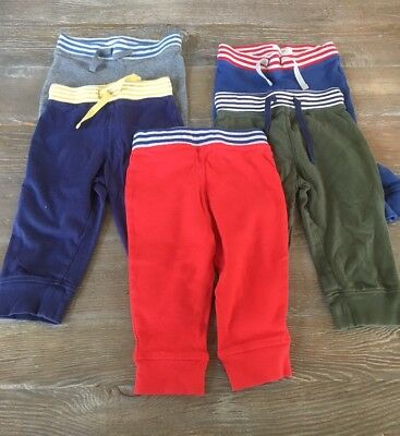 Boys Baby Boden Elastic Waist Sweat Pants Size 12 – 18 Months Lot of 5 T1
