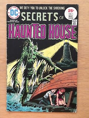 Secrets of HAUNTED HOUSE #1 May 1975 DC COMICS 1st ISSUE