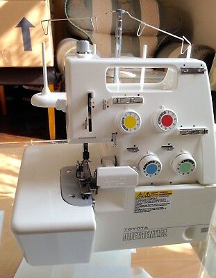 Toyota Differential SL3400D 4 Thread Home Overlocker Sewing Machine