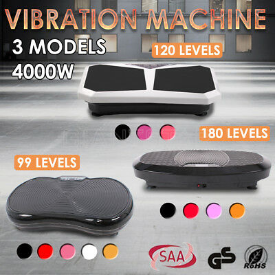 3600W Vibration Machine Exercise Machines Vibrating Plate Platform Body Shaper