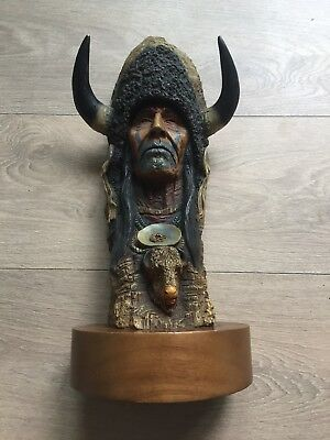 Limited Edition Buffalo Bull By Neil J Rose No 64