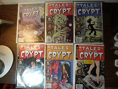 Tales from the Crypt Comics All New - Papercutz Publishing - 6 Issues: 1-6 VF-NM