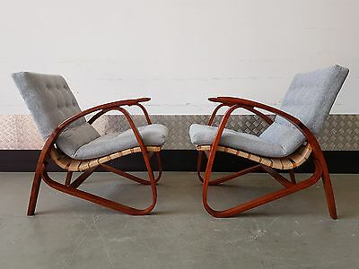 1 of 4 Vintage Armchair by Jan Vanek Mid Century, Design, Art Deco 1​930