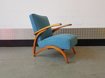 Jindrich Halabala Armchair by Thonet, 1930s
