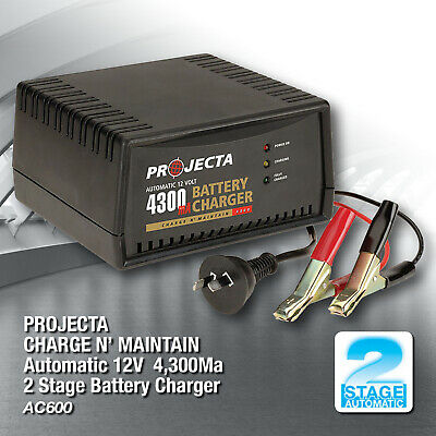 Projecta Ac-600 Charge N' Maintain Battery Charger 12Volt