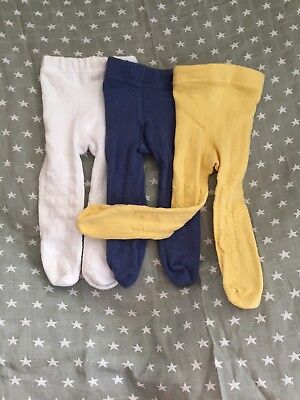 NEXT Baby Tights 3pairs 0-3months Never Worn - Baby Girl - No Labels
