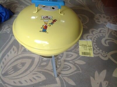 Simpsons Weber Grill, Homer's One-Touch Gold Collector's Edition