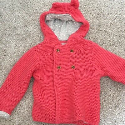 M&S Baby Girl Cardigan/jacket 6-9 Months