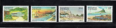 Grenadines of St Vincent Union Island (2nd issue) SG 242/5 MUH