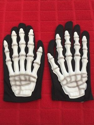 "Halloween ""Skeleton"" GLOVES"