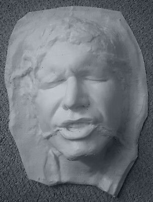 Han Solo Frozen In Carbon - Life Size 1:1 Scale - Head Only
