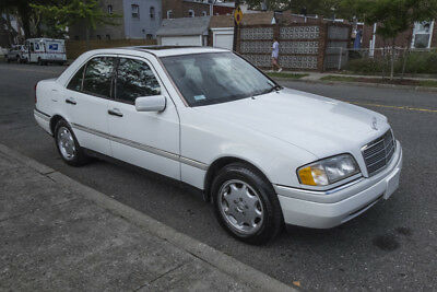 1997 Mercedes-Benz C-Class C230 with only 35,000 miles! NO RESERVE! Only 35,000 miles, clean carfax, leather, sunroof,all power options!