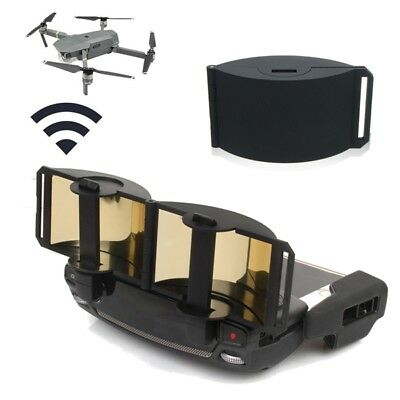 Black Mirror Plate Foldable Signal Extend Antenna Range Booster For DJI Mavic Pr