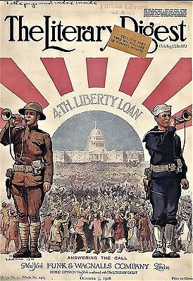 1918 Wartime Cover Art ~ L.A. SHAFER ~ or ~ NASH TRUCKS & CARS and WAR-TIME DUTY