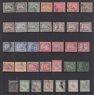 Malaysia Small Groop Of Stamps All Look Fine Used Includes Shades.