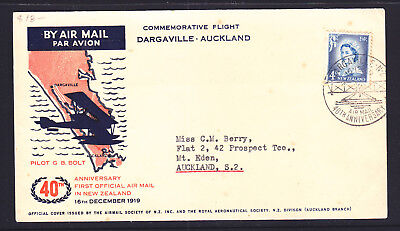 F.f.c :  Nz 1959 Dargaville-Auckland Cover