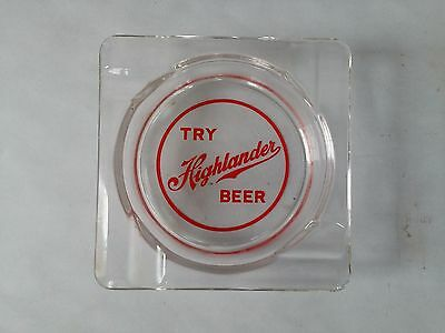 Highlander Beer Glass Ash Tray