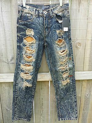 NEW NWT - Boys South Pole Jeans size 14 Slim Straight Authentic Collection