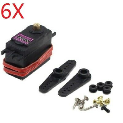 6X MG996R Digital Metal Gear Servo For RC Model