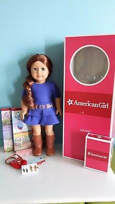 American Girl Doll Saige Copeland GOTY 2013 with Accessories Mint Condition