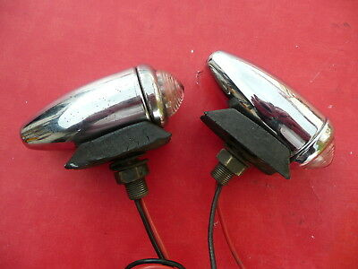 Lotus 7 Seven Series 3 Side Lights Original Lucas Parts
