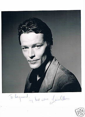 Iain Glen British actor Game of thrones  Hand Signed Photograph 10 x 8 & letter