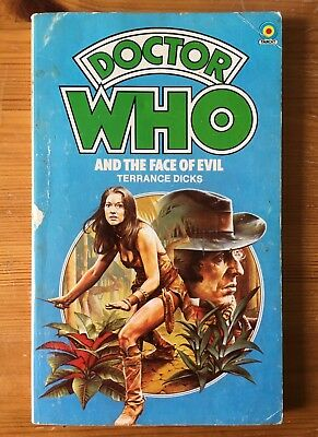 Dr Doctor Who and the Face of Evil - Target 25 - Terrance Dicks