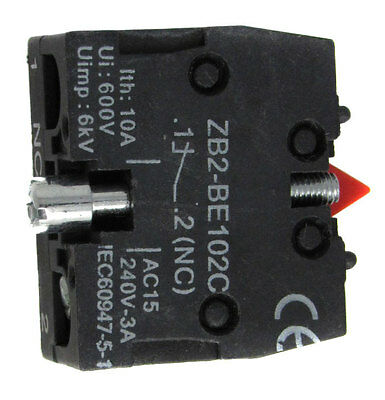New Contact Block Fits Telemecanique Zb2Be-102, Zb2Be102, Zb2-Be102