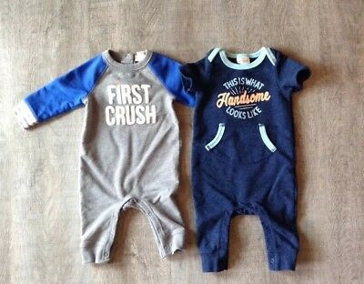 Baby Boy Rompers Size 3-6 Month Cat and Jack bodysuit