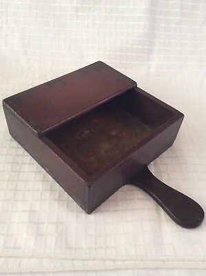 Antique Church Wooden Collection Box