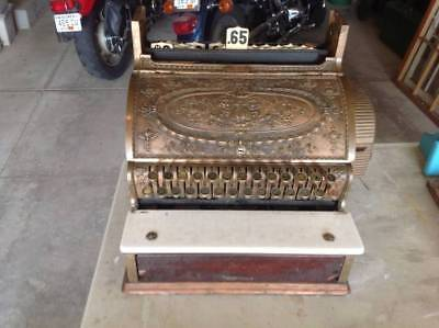 Antique National Cash Register - Model 349 - Working Condition
