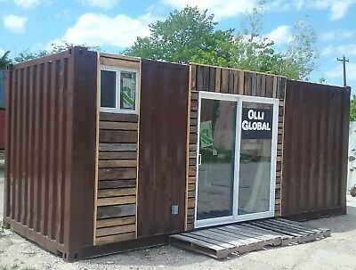 Shipping Container Conversion 20' Tiny House, Lake Cabin, Guestroom, Spare Room