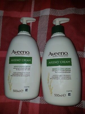 Aveeno cream 500ml x2