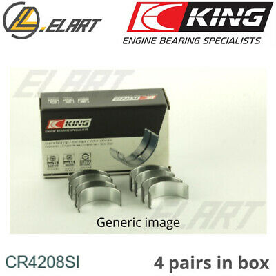 King Big End Con Rod Bearings CR4208SI STD For LAND ROVER 1.8 16V 18K16 80.0 STD