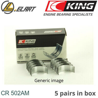 King Big End Con Rod Bearings CR502AM STD For AUDI-VW 1.6-2.4 DIESEL