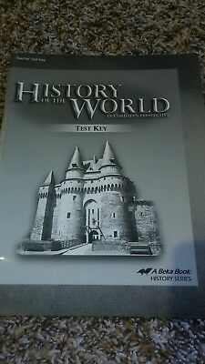 Abeka History of the World in Christian Perspective 7th grade Test Key