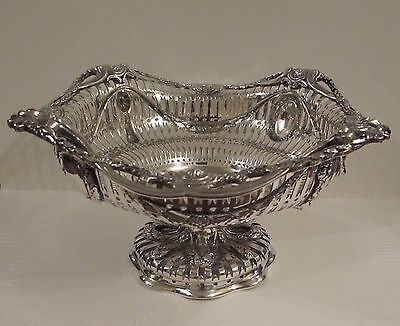 Solid Silver Bowl by George Fox London 1897