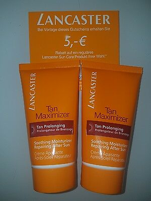 lancaster tan maximizer tan prolonging 2×50ml