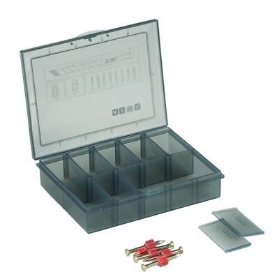 10 Grid Removable Screws Tool Gadgets Storage Box Case