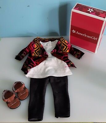 American Girl Doll Saige's Sweater Outfit Retired GOTY 2013