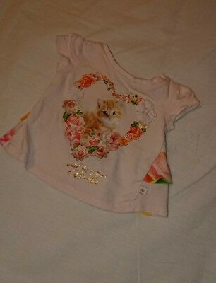 baby girl TED BAKER top tshirt 0-3 months