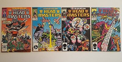 The Transformers: Headmasters #1 - 4 (1987, Marvel) F/VF