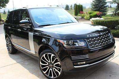 2013 Land Rover Range Rover AWD PREMIUM SUV 2013 Land Rover Range Rover HSE SUPERCHARGED CLEAN