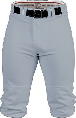 (Large, Blue/Grey) - Rawlings Men's Knee-High Pants. Shipping Included