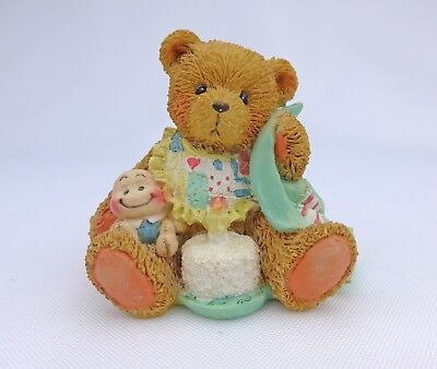 Cherished Teddies 1992 Beary Special One Age 1 Figurine Hamilton Gifts