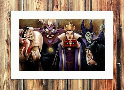 Sinister Villains Paintings HD Print on Canvas Home Decor Room Wall Art Picture