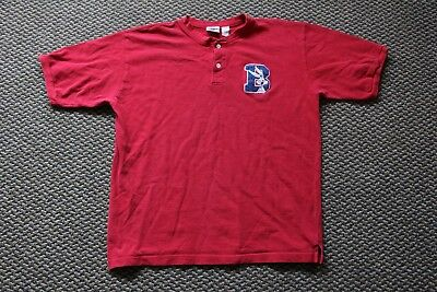 1998 Looney Tunes Vintage Warner Bros. Red Polo Bugs Bunny Size Large