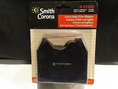 2PK Genuine Smith Corona H Series 21000 Correctable Typewriter Ribbon FREE SHIP