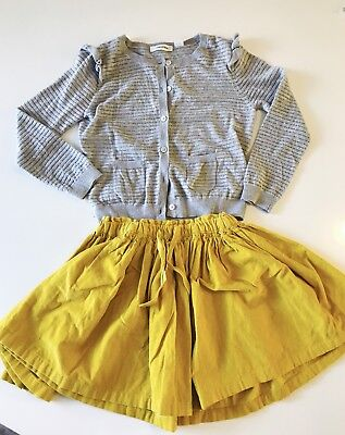 Country Road Girls Cardigan And Skirt