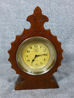 Antique Elgin 8 Day Car Clock -  Very Good Running Condition.